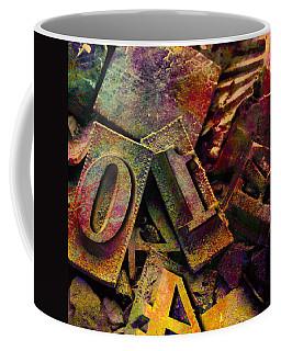 Hot Metal Type Coffee Mug