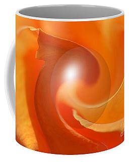 Hot Orange Globe Coffee Mug