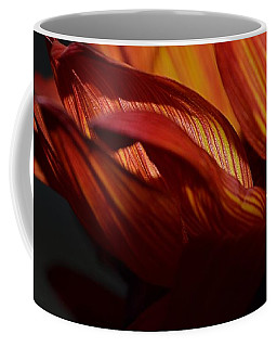 Hot Orange Sunflower Coffee Mug