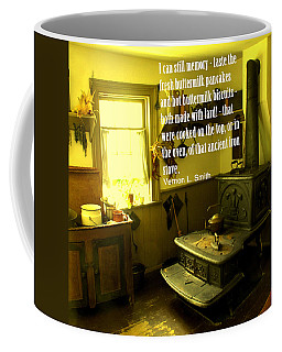 Coffee Mug featuring the photograph Hot Pancakes by Ian  MacDonald