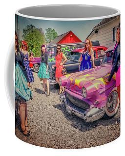 Hot Pink Coffee Mug by Jerry Golab