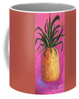 Hot Pink Pineapple Coffee Mug