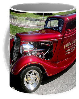 Hot Rod Chief Coffee Mug by Kevin Fortier