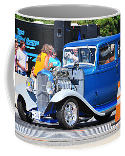 Hot Rod Dragster Coffee Mug by Mike Martin