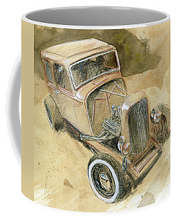 Hot Rod Tudor Coffee Mug