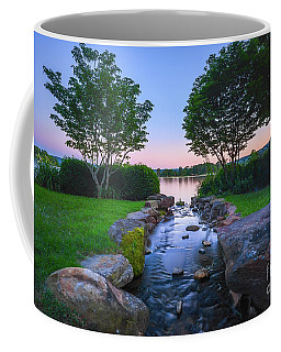 Hot Spring Water Flow Coffee Mug