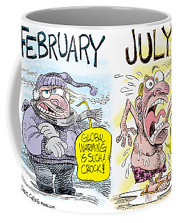 Hot Summer Global Warming Coffee Mug