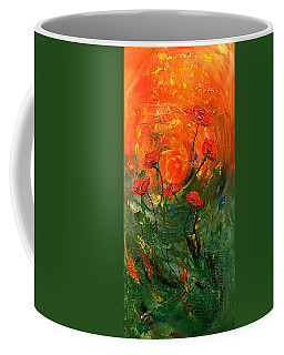 Hot Summer Poppies Coffee Mug by Dorothy Maier