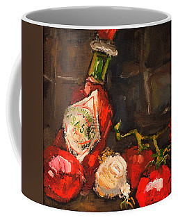 Hot Tomaties Coffee Mug by Carole Foret