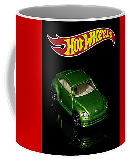 Coffee Mug featuring the photograph Hot Wheels 2012 Volkswagen Beetle by James Sage