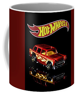 Coffee Mug featuring the photograph Hot Wheels '55 Chevy Nomad 2 by James Sage