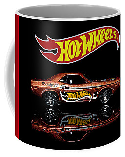 Coffee Mug featuring the photograph Hot Wheels '70 Dodge Challenger by James Sage