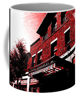 Coffee Mug featuring the photograph Hotel Congress by MB Dallocchio