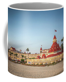 Hotel Del Coronado Dusk Coffee Mug