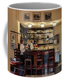 Coffee Mug featuring the photograph Hotel Presidente Bar Havana Cuba by Charles Harden