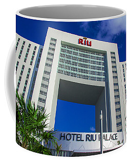 Hotel Riu Palace In Cancun Coffee Mug