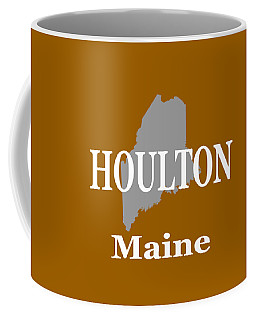 Coffee Mug featuring the photograph Houlton Maine State City And Town Pride  by Keith Webber Jr