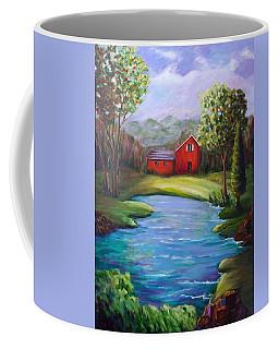 House By The Lake Coffee Mug