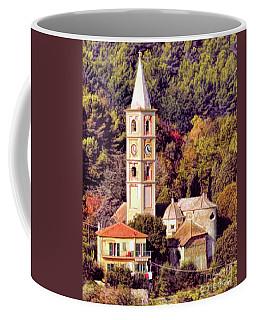 House, Church And Castle Coffee Mug by Jennie Breeze