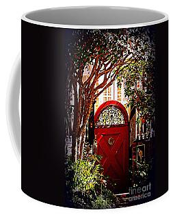 House Door 5 In Charleston Sc  Coffee Mug