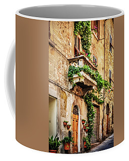 House In Arezzoo, Italy Coffee Mug by Marion McCristall