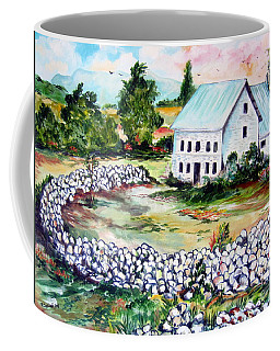 House In Bosnia H Kalinovik Coffee Mug by Roberto Gagliardi