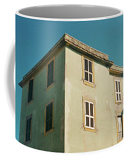 House In Ostia Beach, Rome Coffee Mug