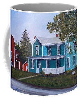 House In Seward Coffee Mug