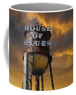 Coffee Mug featuring the photograph House Of Blues  by Laura Fasulo