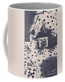 Coffee Mug featuring the photograph House Of Cards by Jorgo Photography - Wall Art Gallery