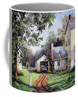 House On Bird Street Coffee Mug