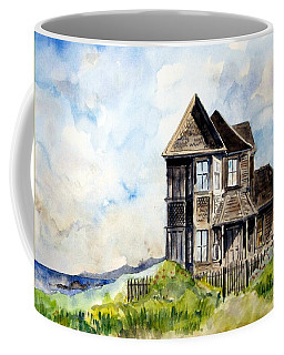 House On Little Lake Street Mendocino Coffee Mug
