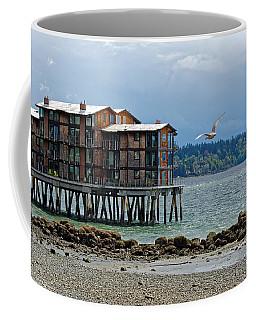 House On Stilts Coffee Mug