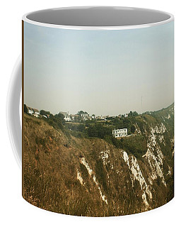 House On The Cliffs, Folkestone, Kent, England Coffee Mug