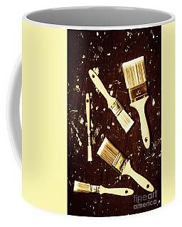 House Paint Abstract Coffee Mug