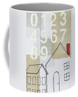 House Plans 3- Art By Linda Woods Coffee Mug