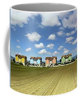 Coffee Mug featuring the photograph House To House To Urbino by Jennie Breeze