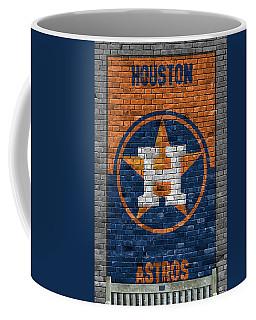 Houston Astros Brick Wall Coffee Mug