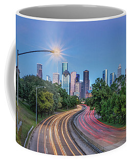 Houston Evening Cityscape Coffee Mug