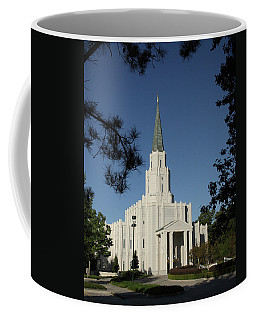 Houston Lds Temple Coffee Mug