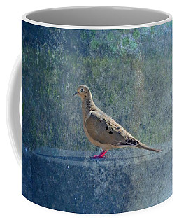 Coffee Mug featuring the photograph How Can You Just Leave Me Standing by Alison Frank