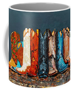 How The West Was Really Won Coffee Mug by Frances Marino