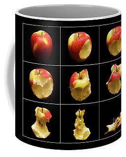 How To Eat An Apple In 9 Easy Steps Coffee Mug