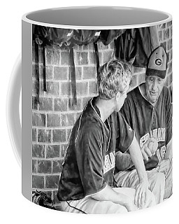 Coffee Mug featuring the photograph How To Throw A Curve Ball by Benanne Stiens