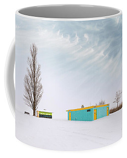 Coffee Mug featuring the photograph How To Wear Bright Colors In The Winter by John Poon