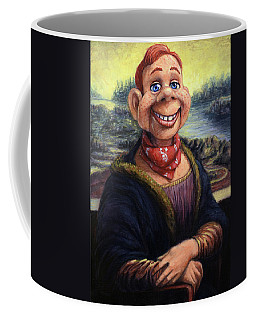 Coffee Mug featuring the painting Howdy Doovinci by James W Johnson