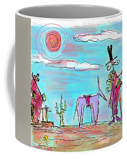 Howdy Pardner...the Frontier Awaits Coffee Mug