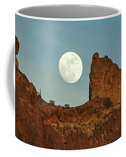 Howling At The Moon II Coffee Mug