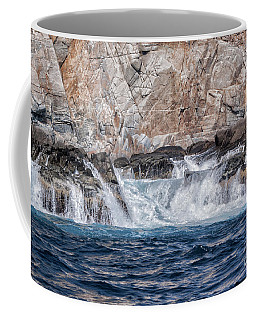 Coffee Mug featuring the photograph Huatulco's Texture by Ana Mireles