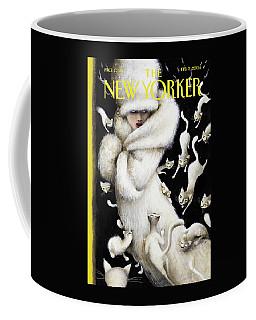 Huddling For Warmth Coffee Mug